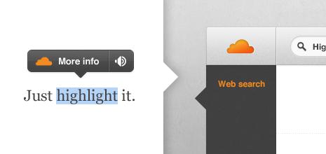 App: Goodbye Apture, Hello Highlight