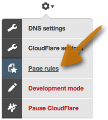 Introducing Page Rules: Fine Grained Control over CloudFlare's Features