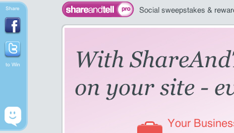 App: ShareAndTell Pro Makes Sweepstakes Easy